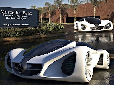 Sweet Car 2010 Mercedes Benz Sport Cars Biome Concept
