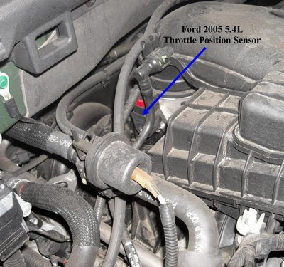 Ford L Tps on ford triton spark plug problems