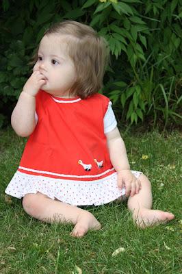 Jolinas Welt: Kleinkind mit Down Syndrom
