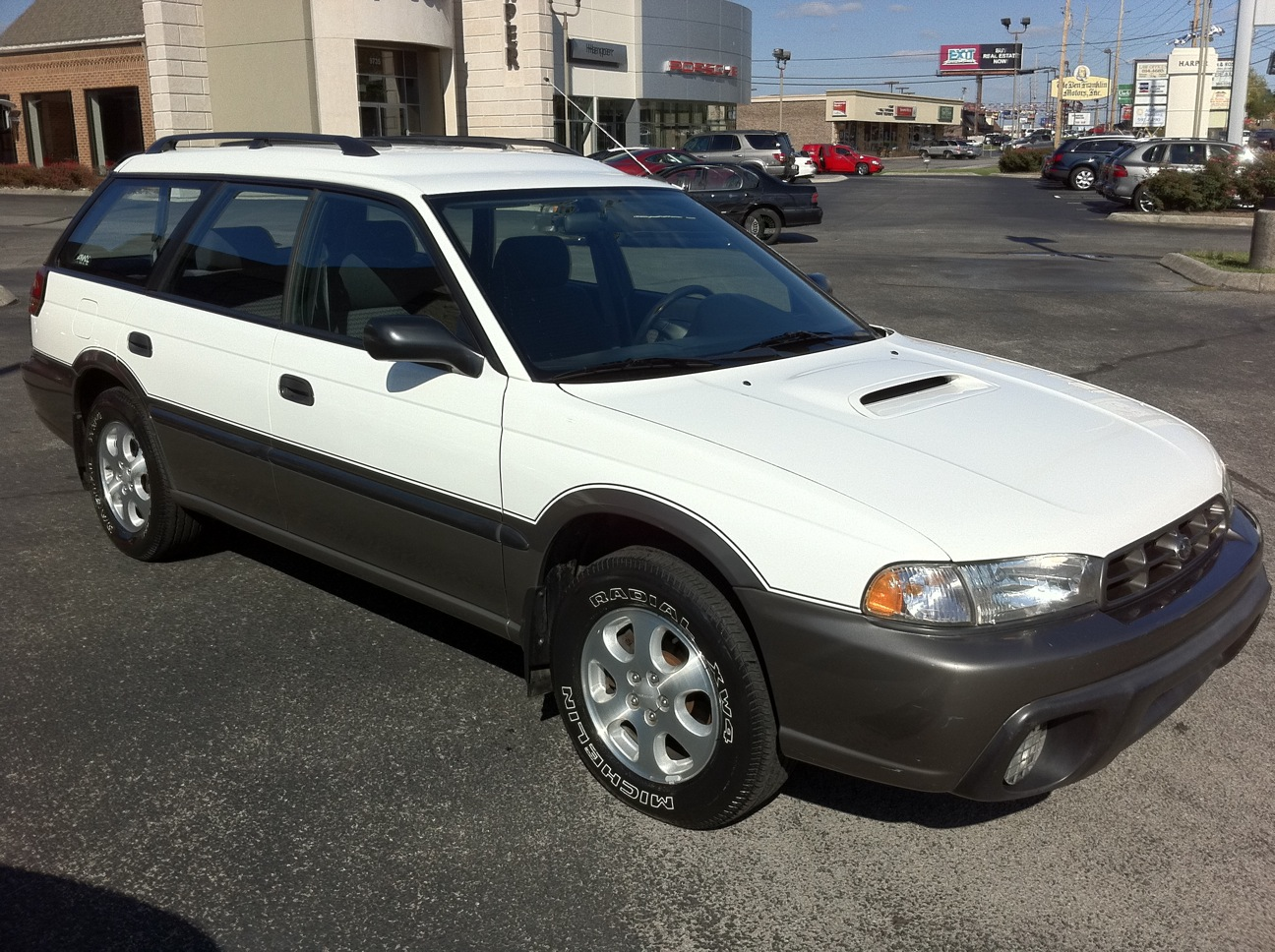 Pre Owned Infiniti >> Harper Infiniti Trade-ins: 1998 Subaru Outback for sale in ...