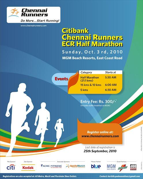 Half Marathon Running Posters