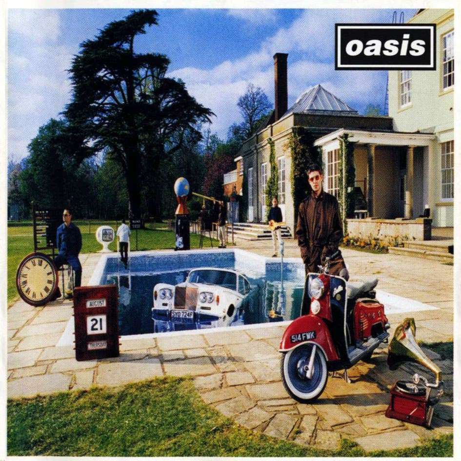 Media Music Blog: Album Cover Analysis: Oasis- Be Here Now Oasis Band Album Cover