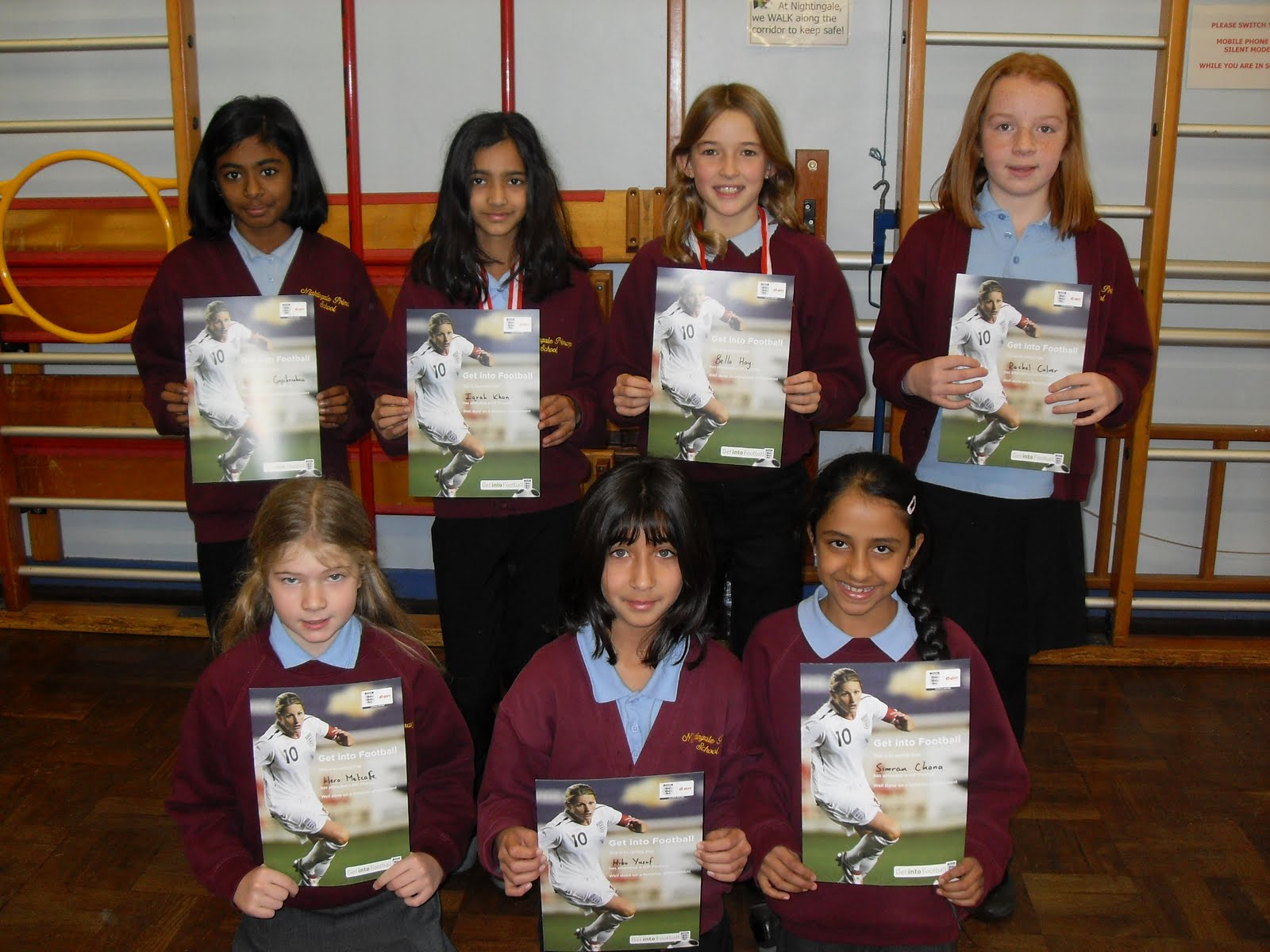 Nightingale Bamford School Uniform