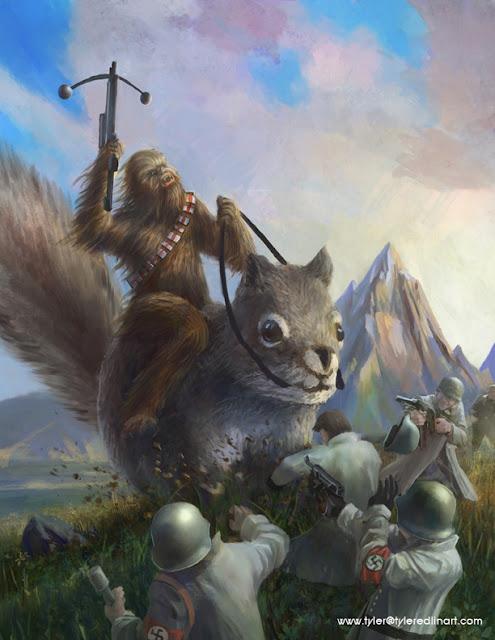 star wars squirrel nazis