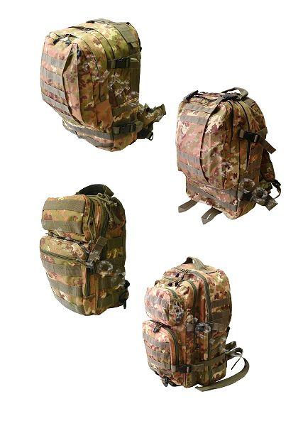 66fac4d270 Per gli appartenenti alle Forze Armate o per gli amanti dell'outdoor gli  zaini sono ormai parte integrante di escursioni o di missioni estere.