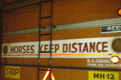Horses Keep Distance