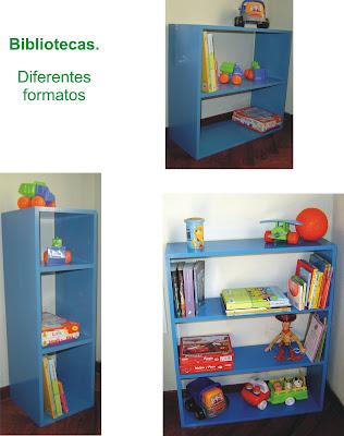 Muebles y objetos en madera para chicos y para la familia - Mueble biblioteca infantil ...