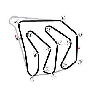 Tamerlane's Thoughts: West Coast Formula One Circuits