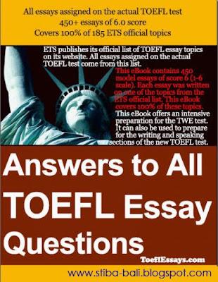 Toefl vocabulary test with answers pdf