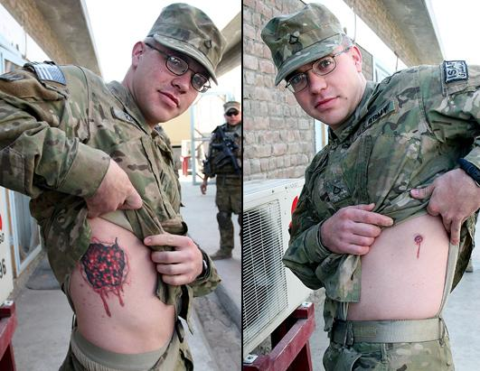 Tatuering Inom Milit 228 Ren Mattsjansson