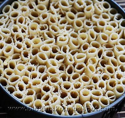 Baked Rigatoni Cake Rigatoni Pasta Pie Blog Ni Ako