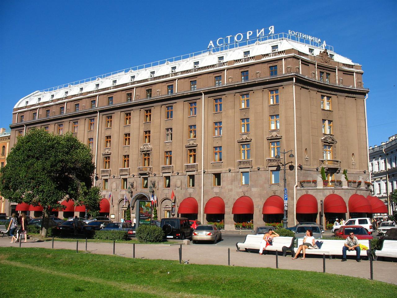 Hotel Astoria, St Petersburg