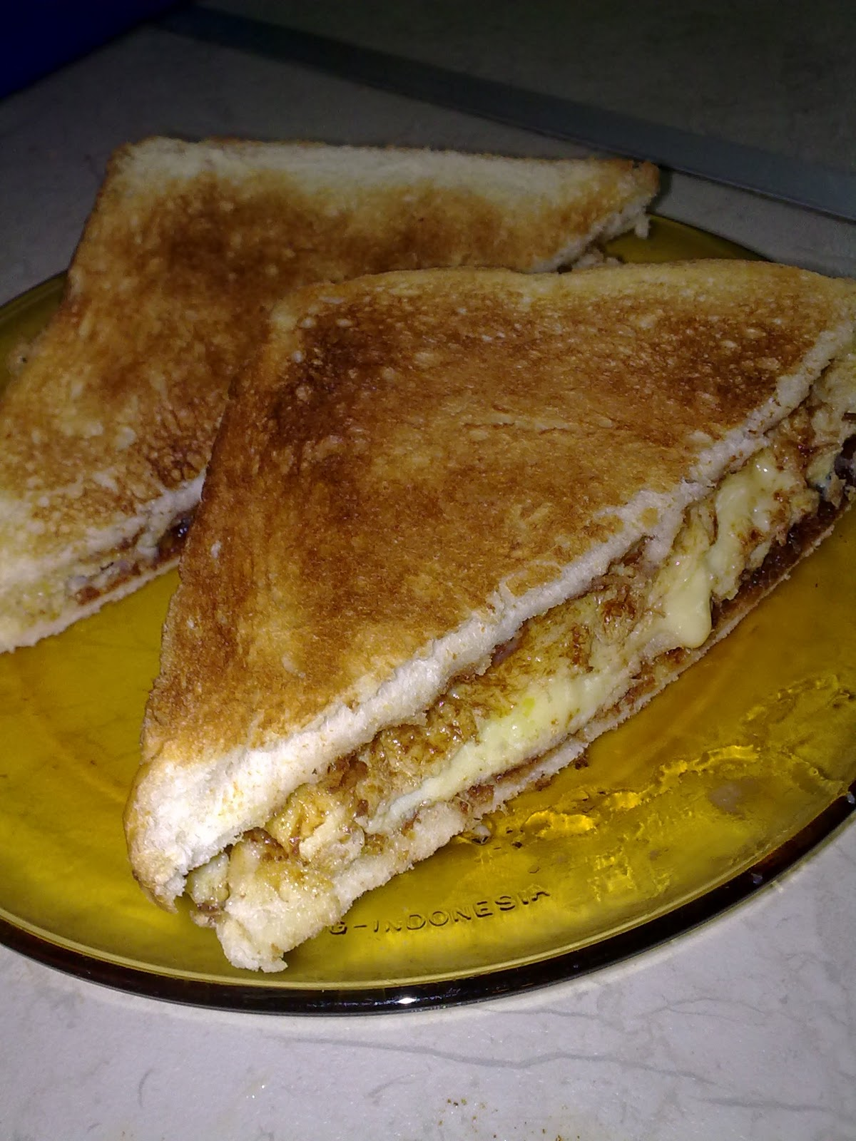 MY ALL: roti bakar telur cheese...
