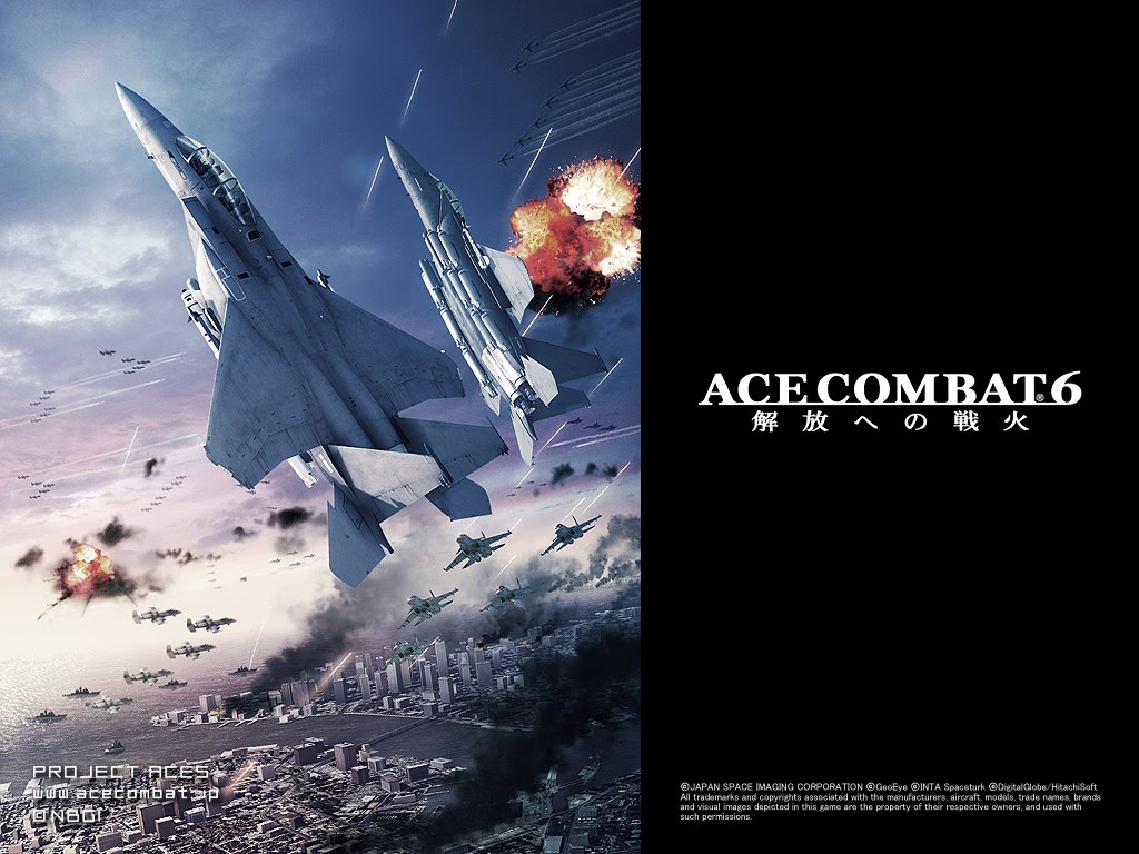Best Game Wallpaper Collection: Best Ace Combat 6 Wallpapers