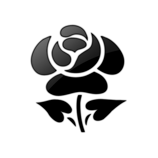 free clip art roses black and white - photo #40