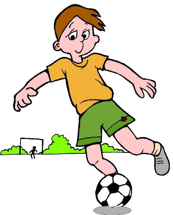 animated clip art of football - photo #10