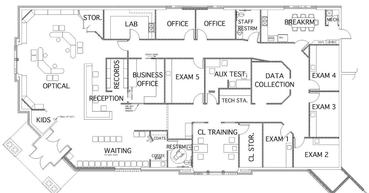 Optometric Office Design Ideas: Taking An Optical Floor
