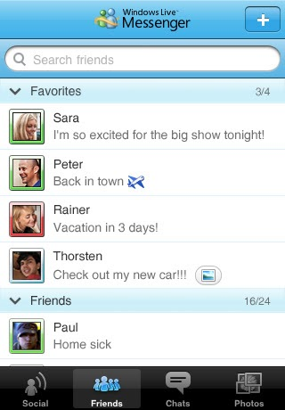 Windows live messenger for iphone and ipod touch now available for.