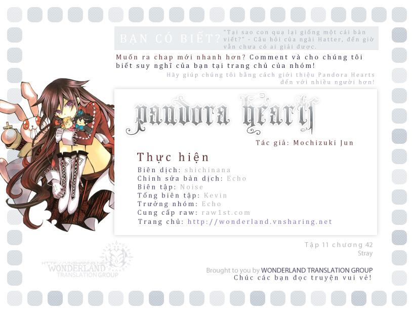 Pandora Hearts chương 042 - retrace: xlii stray-v002 trang 41