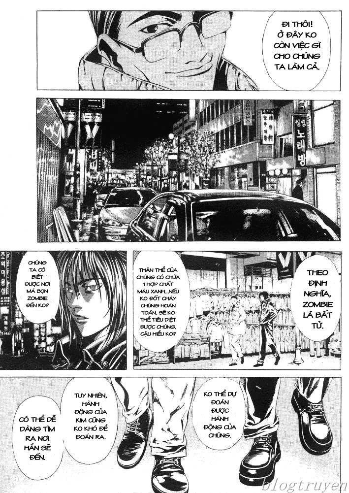Zombie hunter chap 16 trang 17
