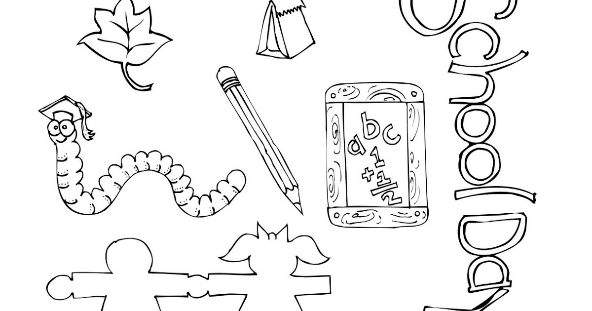ArtzeeCCC: Teacher School Clipart for You to Print Out