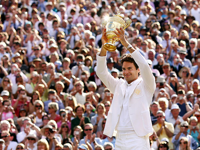Image result for roger federer wimbledon champion