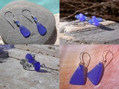 Sea glass jewelry or beach glass jewelry