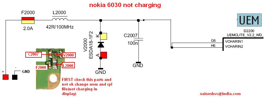 nokia2B60302Bnot2Bcharging2Bproblem
