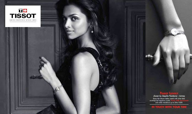 Deepika Padukone | new brand ambassador of TISSOT watches ...