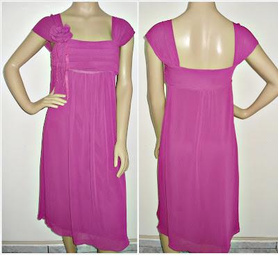 53c62e558e Brechó Le Bon Marché  Vestido Pink - da Folic