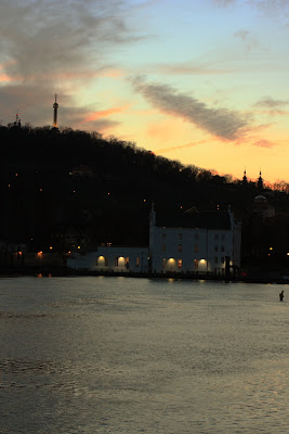Prague - Sunset over Petrin hill
