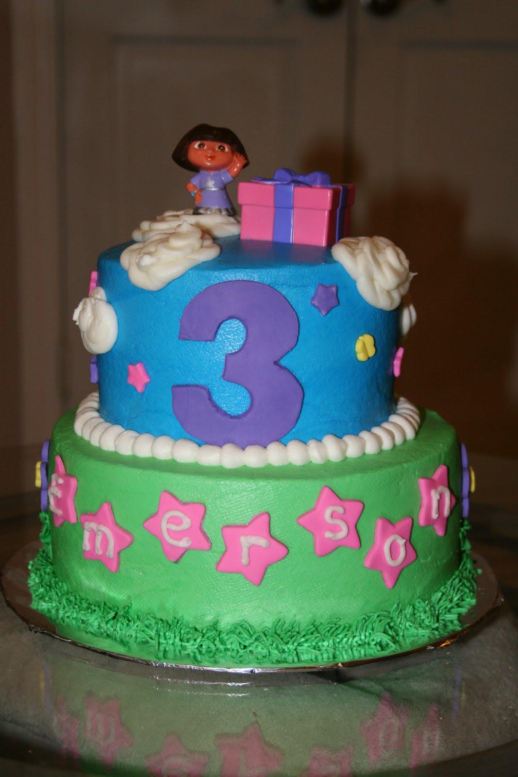 Rachel S Creative Cakes Dora Cake