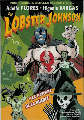 Lobster Johnson es muy macho!