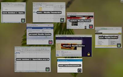 Qubes OS Desktop