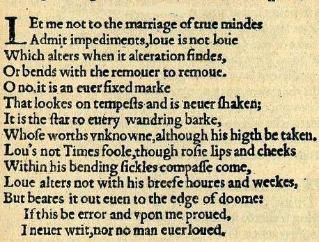 Sonnet 116 | Love Quotes Romantic