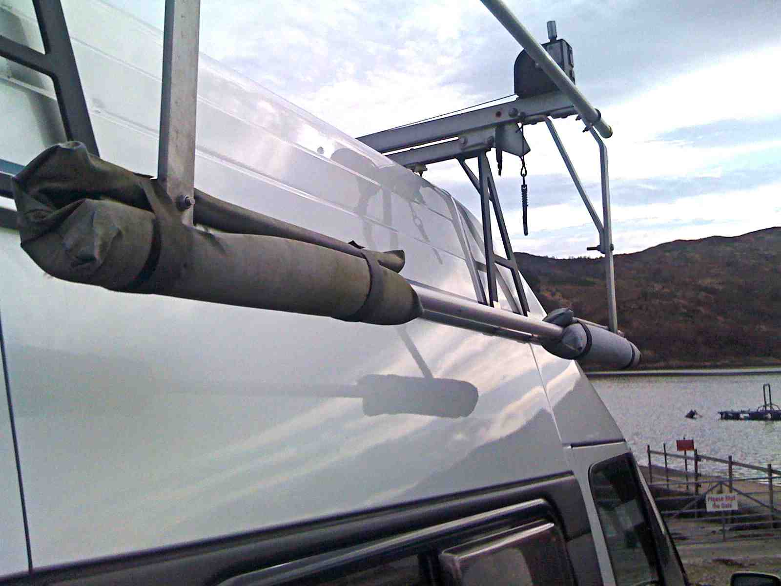 Simonwillis Net Refinement To Kari Tek Kayak Roof Rack