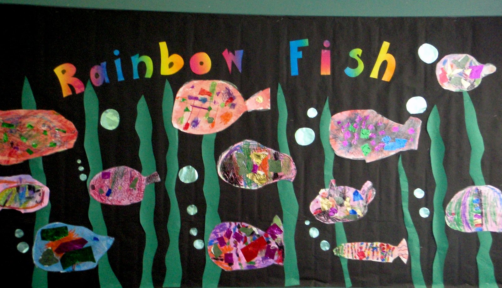 Fayston Elementary Art Rainbow Fish