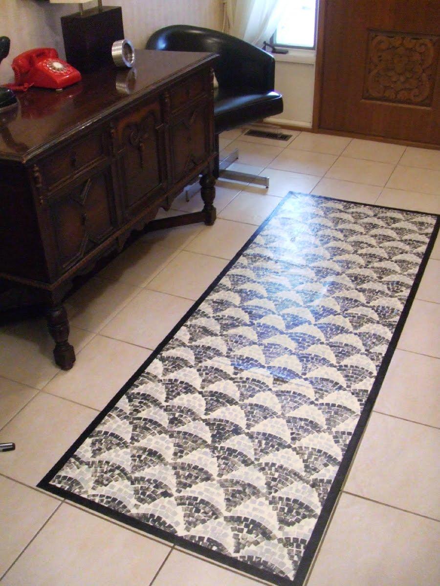 Jane Avion Painted Floor Mat