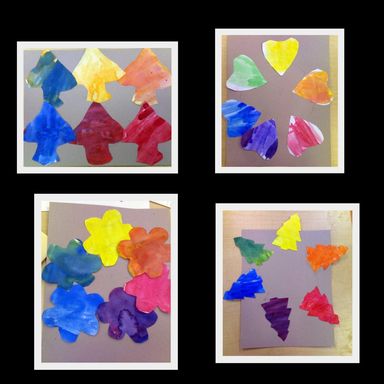 Harvest Artists Blog First Grade Color Wheels