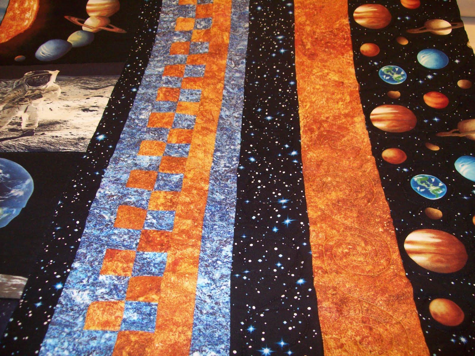 Best Friends Quilting: NASA Quilt