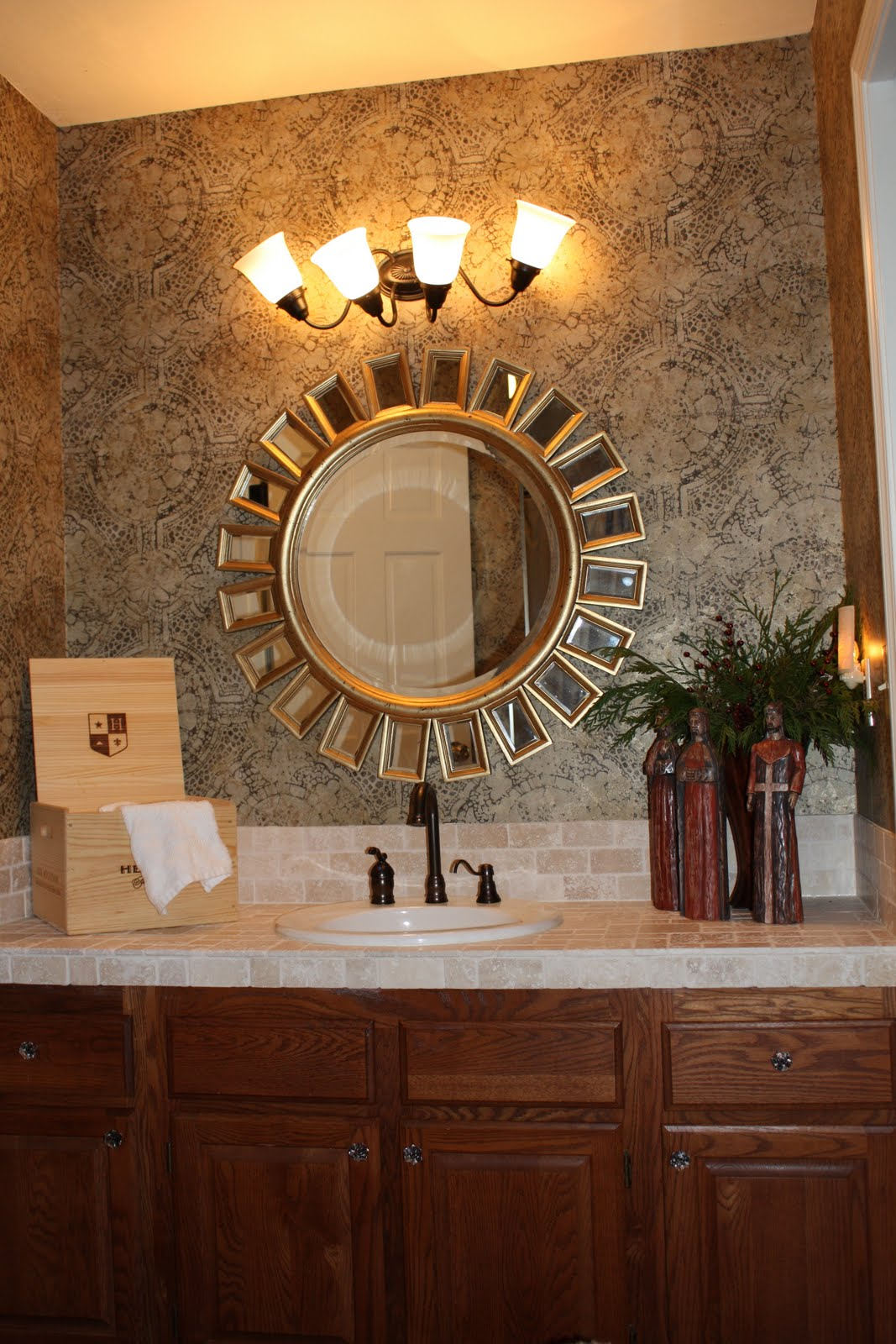 Bathroom Light Fixtures Over Mirror