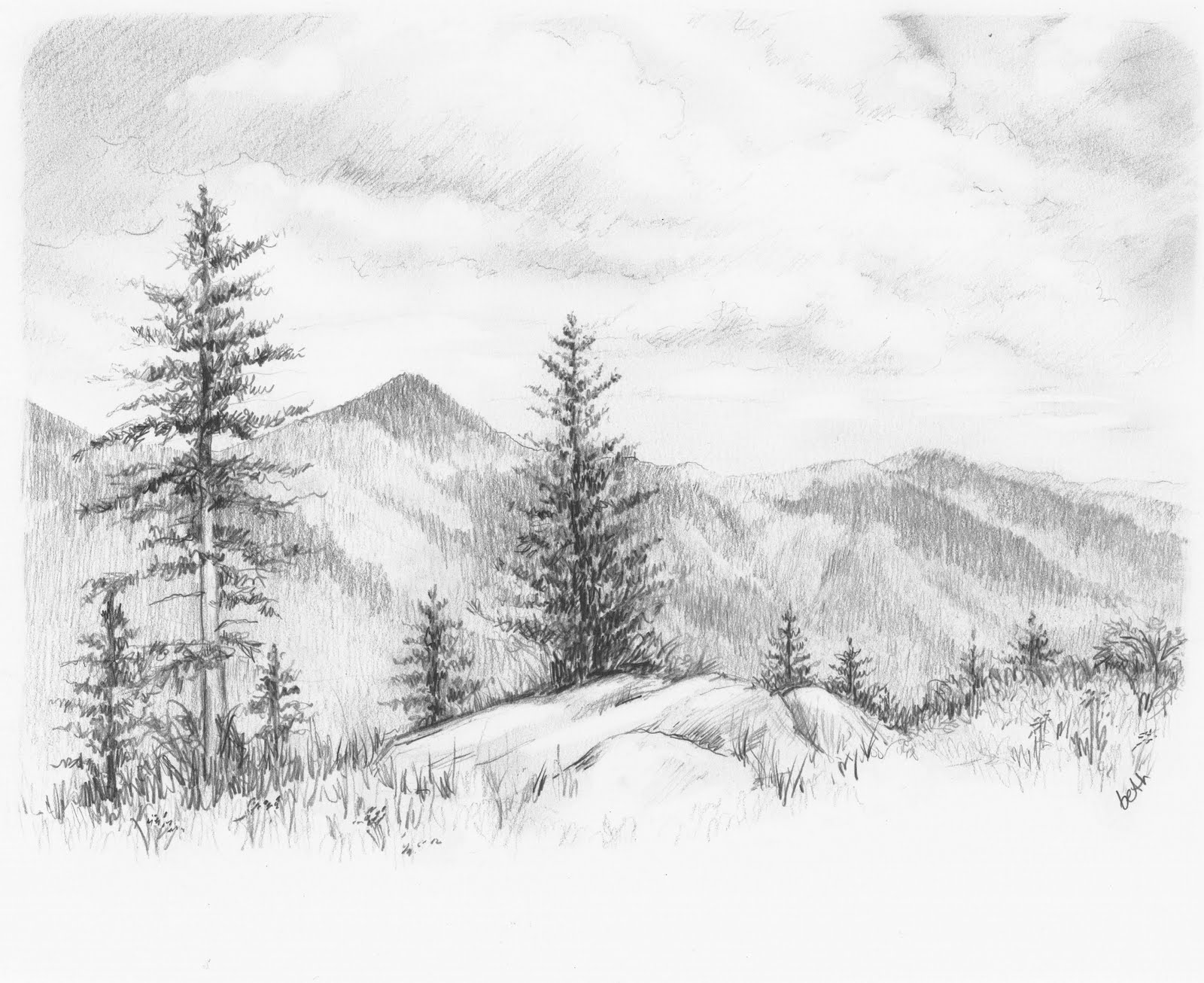 Natural Drawing Pictures Pencil Easy 1000 43 Images About Graphite
