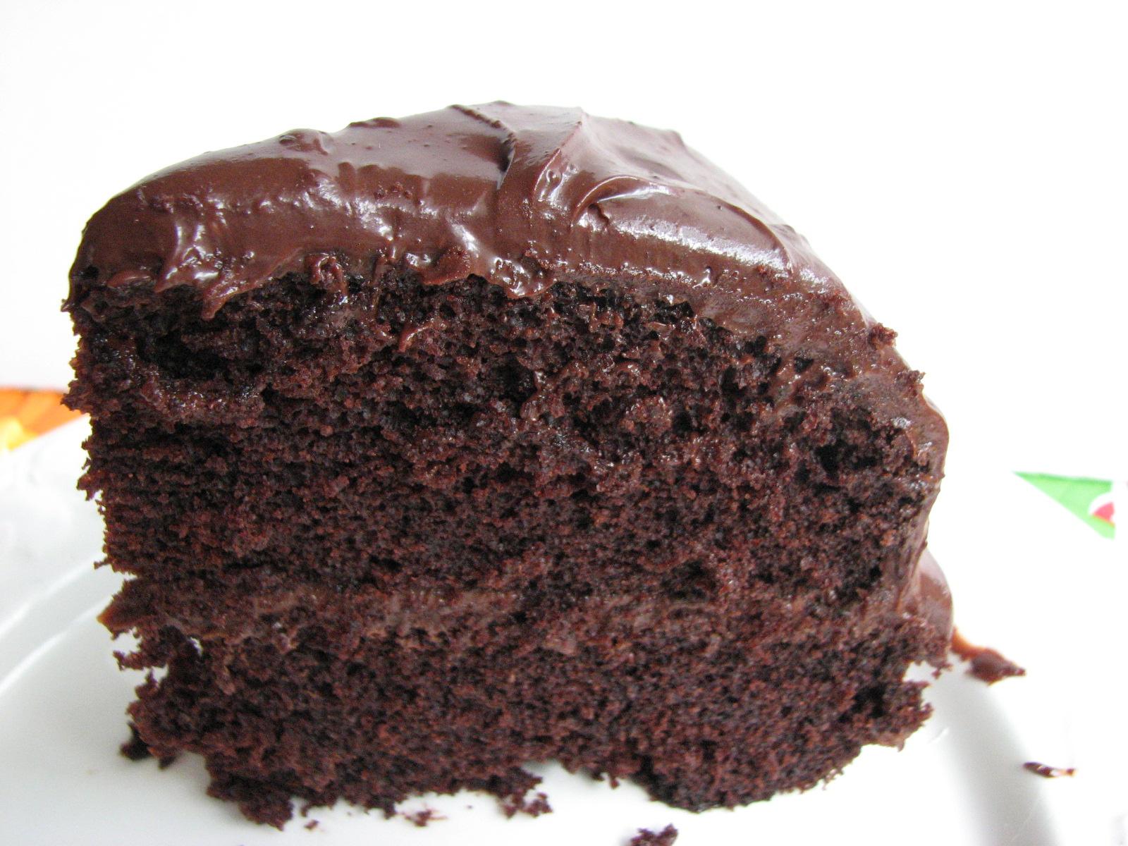 how to make glossy chocolate icing