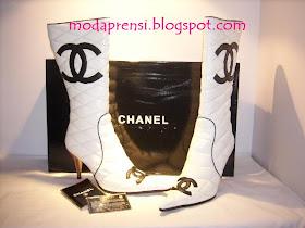 Yeni Sezon Modelleri Chanel Bayan Cizme Modelleri