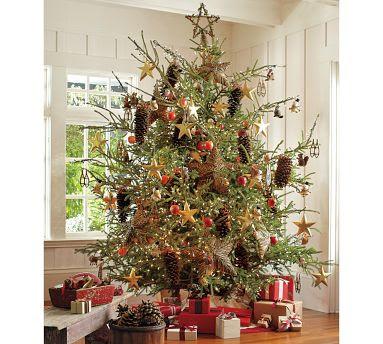 Red heads craft more fun pb inspired rattan star christmas tree topper - Arbol navidad ratan ...