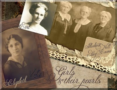Girls & their pearls -- Smile for the Camera