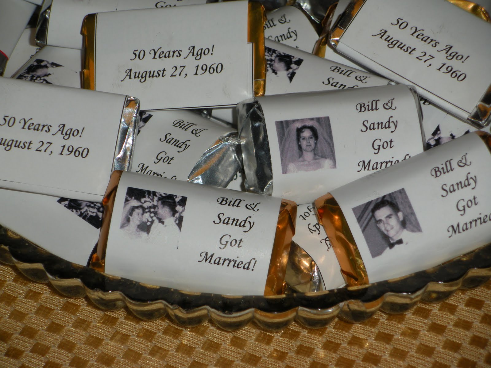 50th Wedding Anniversary Gift Ideas For Wife: NOT A REAL HOUSEWIFE: Happy 50th Anniversary To My Parents