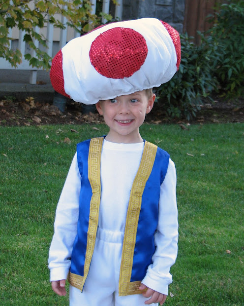 Toad From Mario Costume