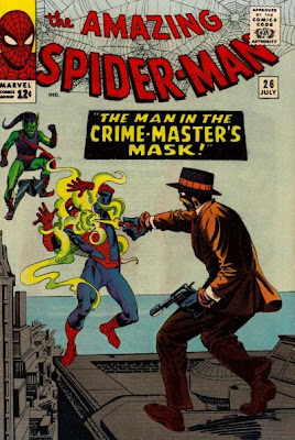 Amazing Spider-Man #26, the Green Goblin and the Crime Master, Steve Ditko cover
