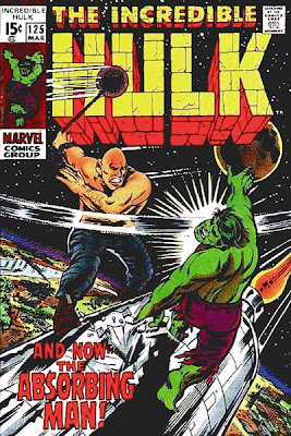 Incredible Hulk #125, the Absorbing Man, Herb Trimpe cover